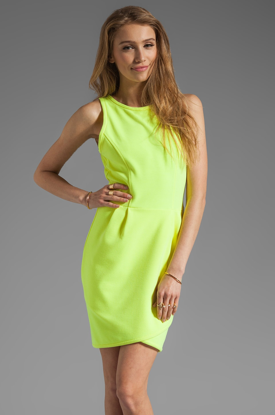 Dolce Vita Hymore Solid Pointe Dress in Yellow