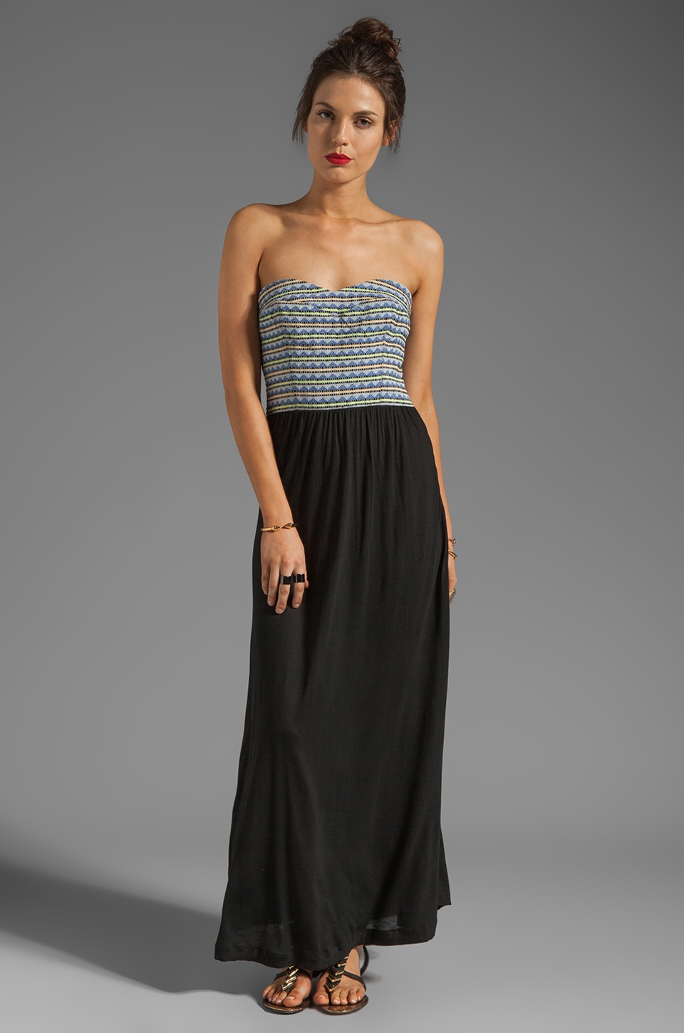 Dolce Vita Maudine Maxi in Blue Stripe