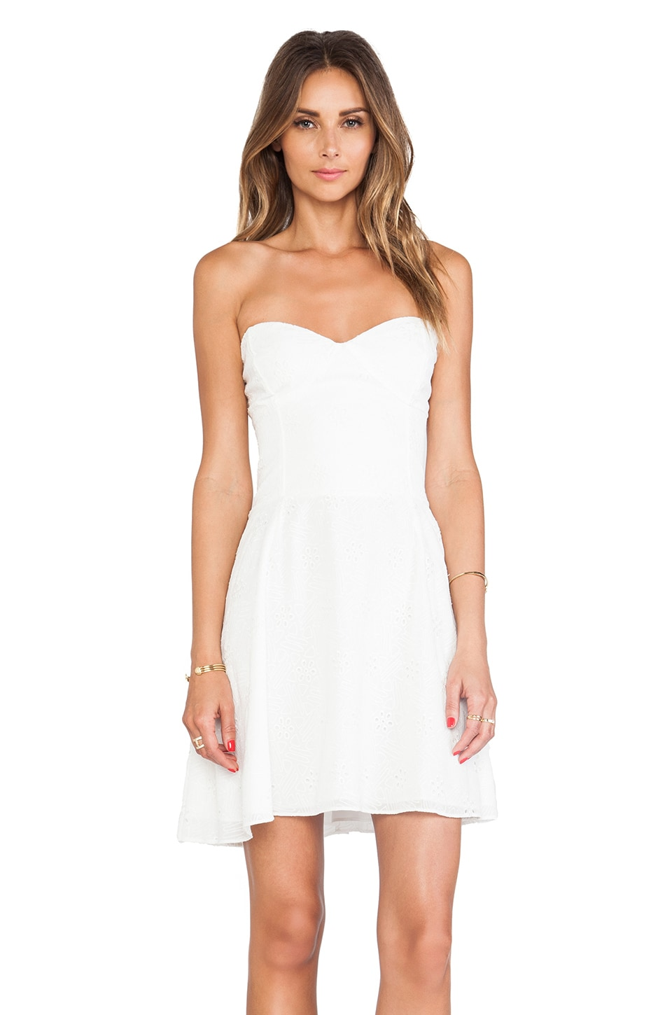 Dolce Vita Singer Dress in White