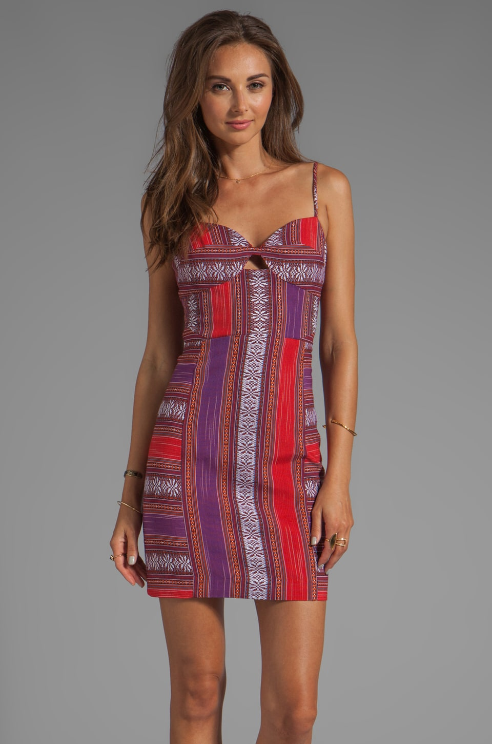 Dolce Vita Amy Dress in Multi Stripe