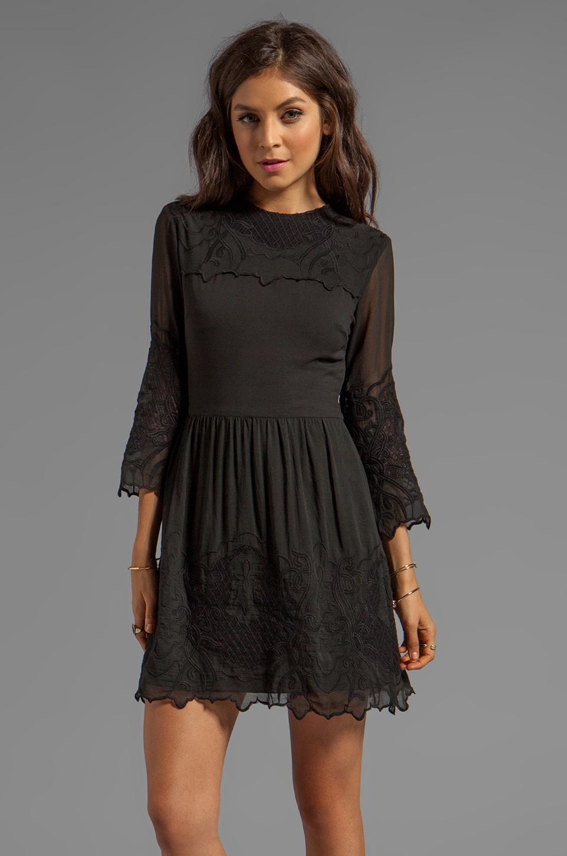 Dolce Vita Fantine New Baroque Dress in Black