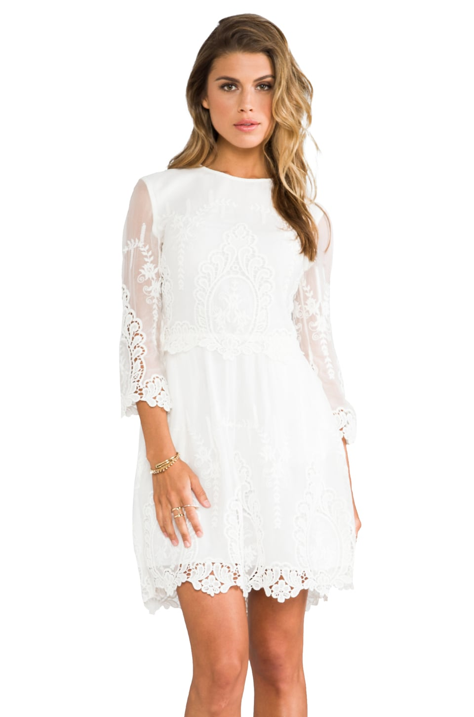 Dolce Vita Valentina Dress in Blanco