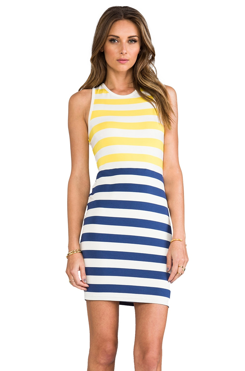 Dolce Vita Shondra Dress in Multi Stripe