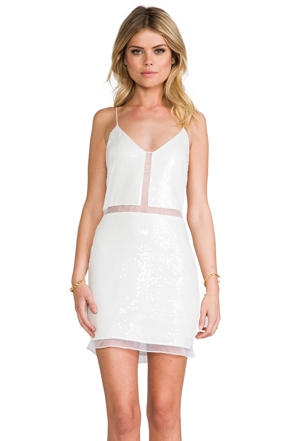 Dolce Vita Alva Dress in White