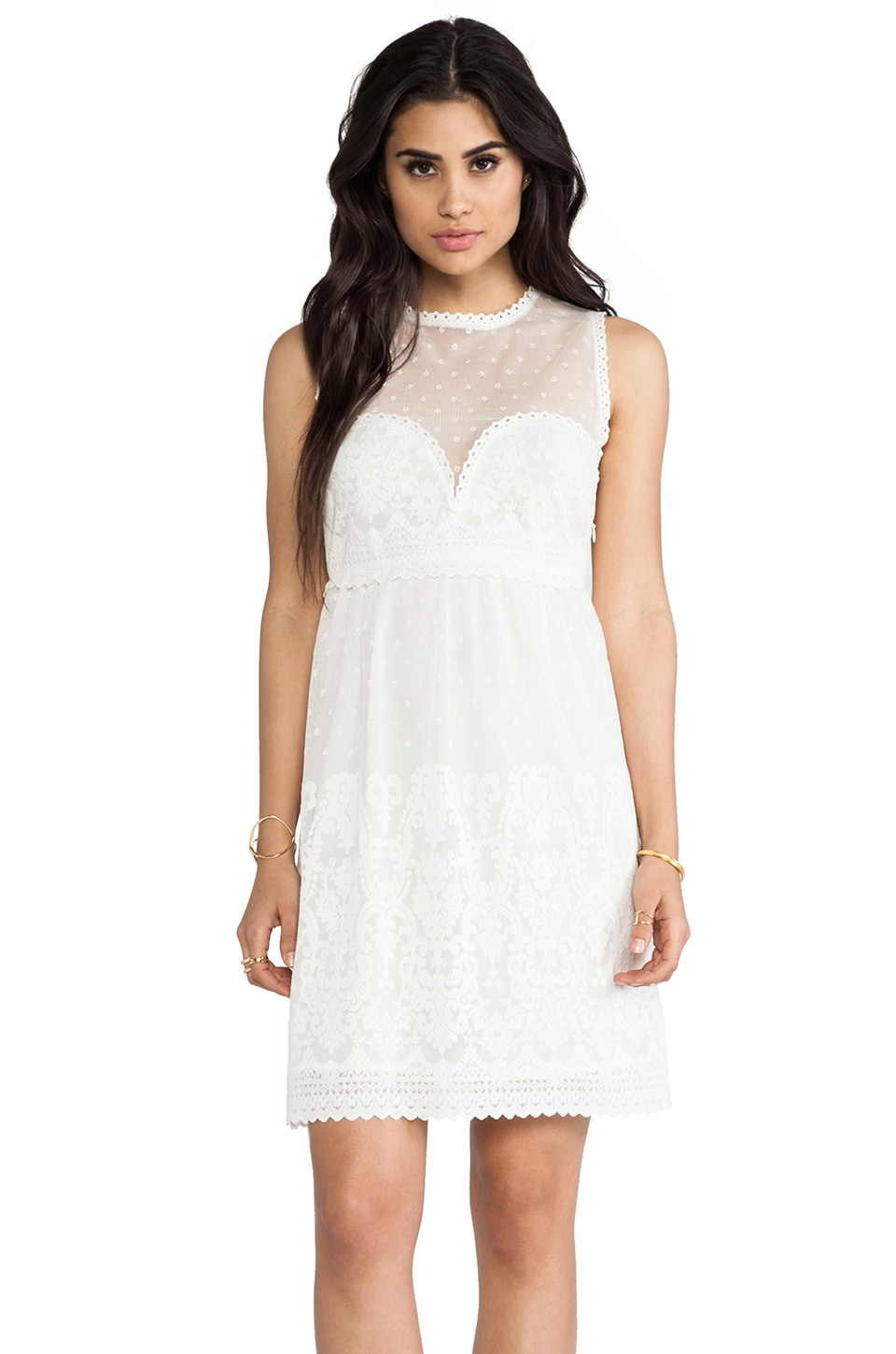 Dolce Vita Rosabella Dress in Snow