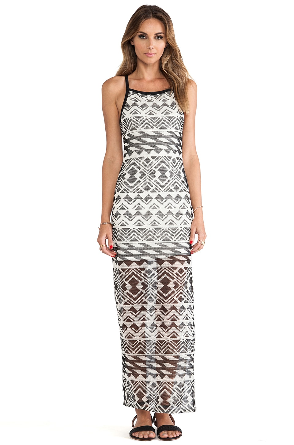 Dolce Vita Borna Dress in Black Print