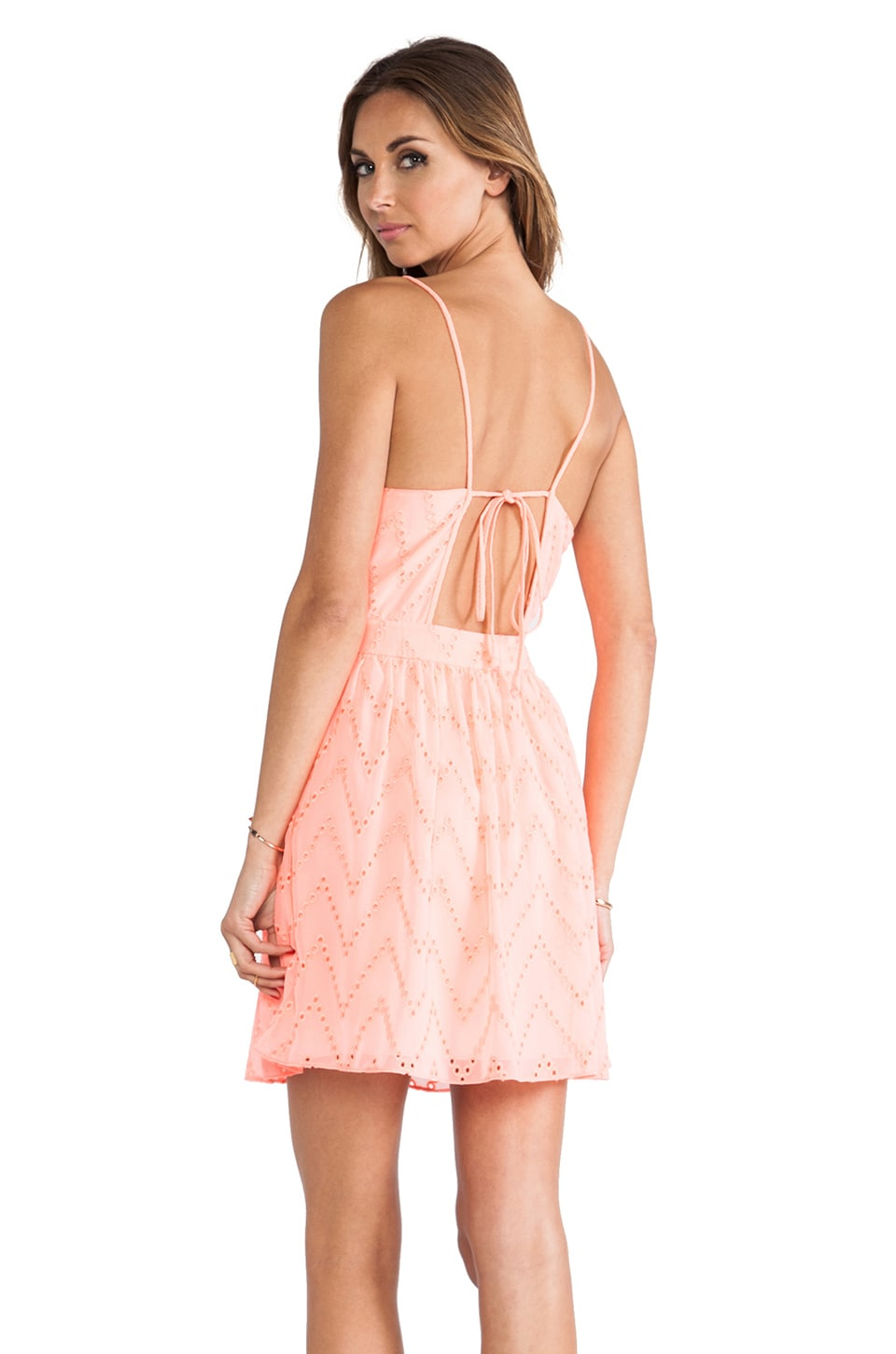 Dolce Vita Caliban Dress in Peach