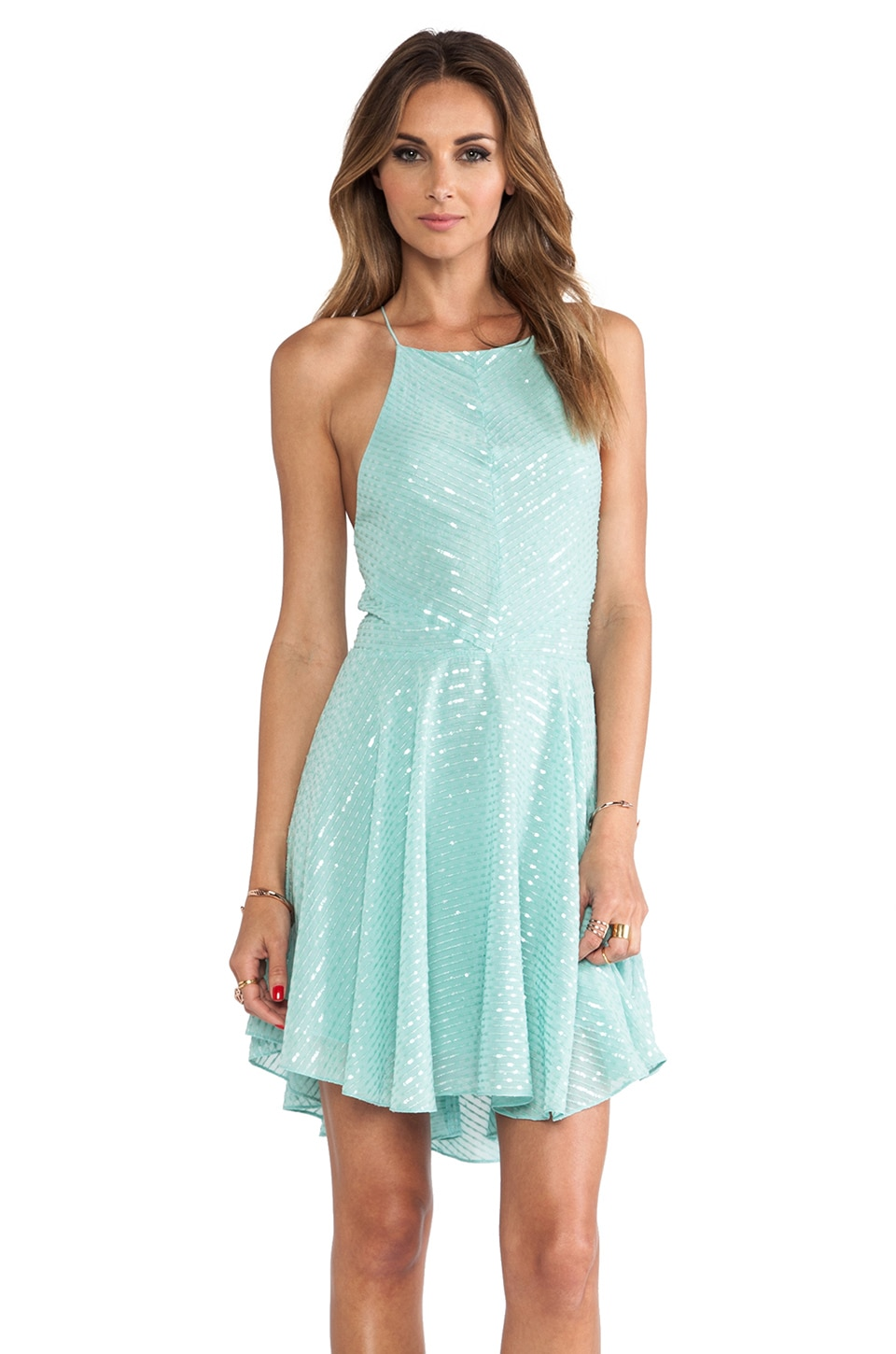 Dolce Vita Mahdis Dress in Mint