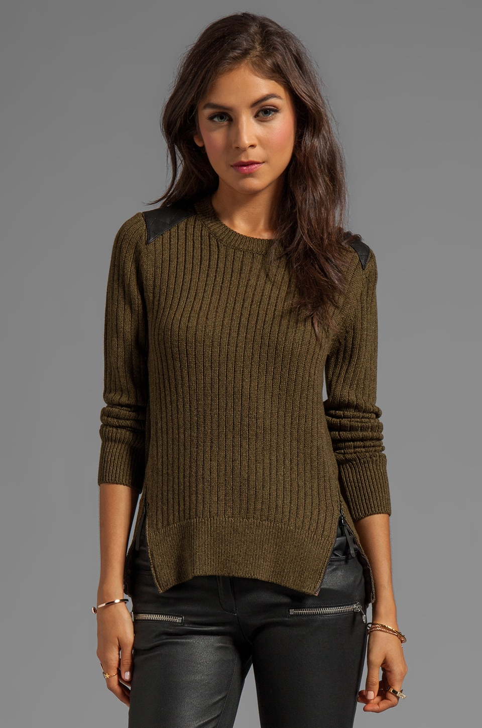 Dolce Vita Joe Military Knit in Army Green