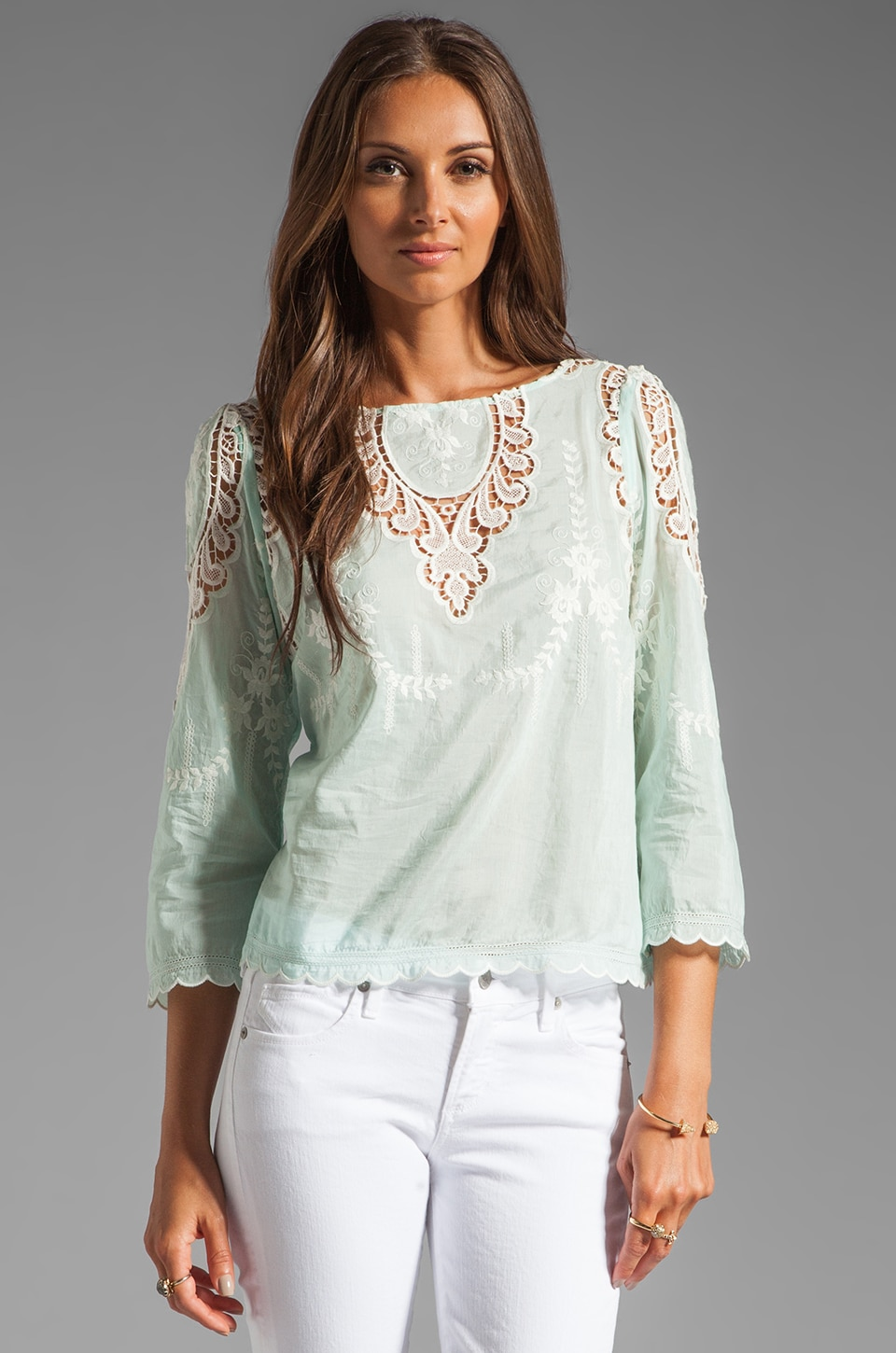 Dolce Vita Alma Top in Mint