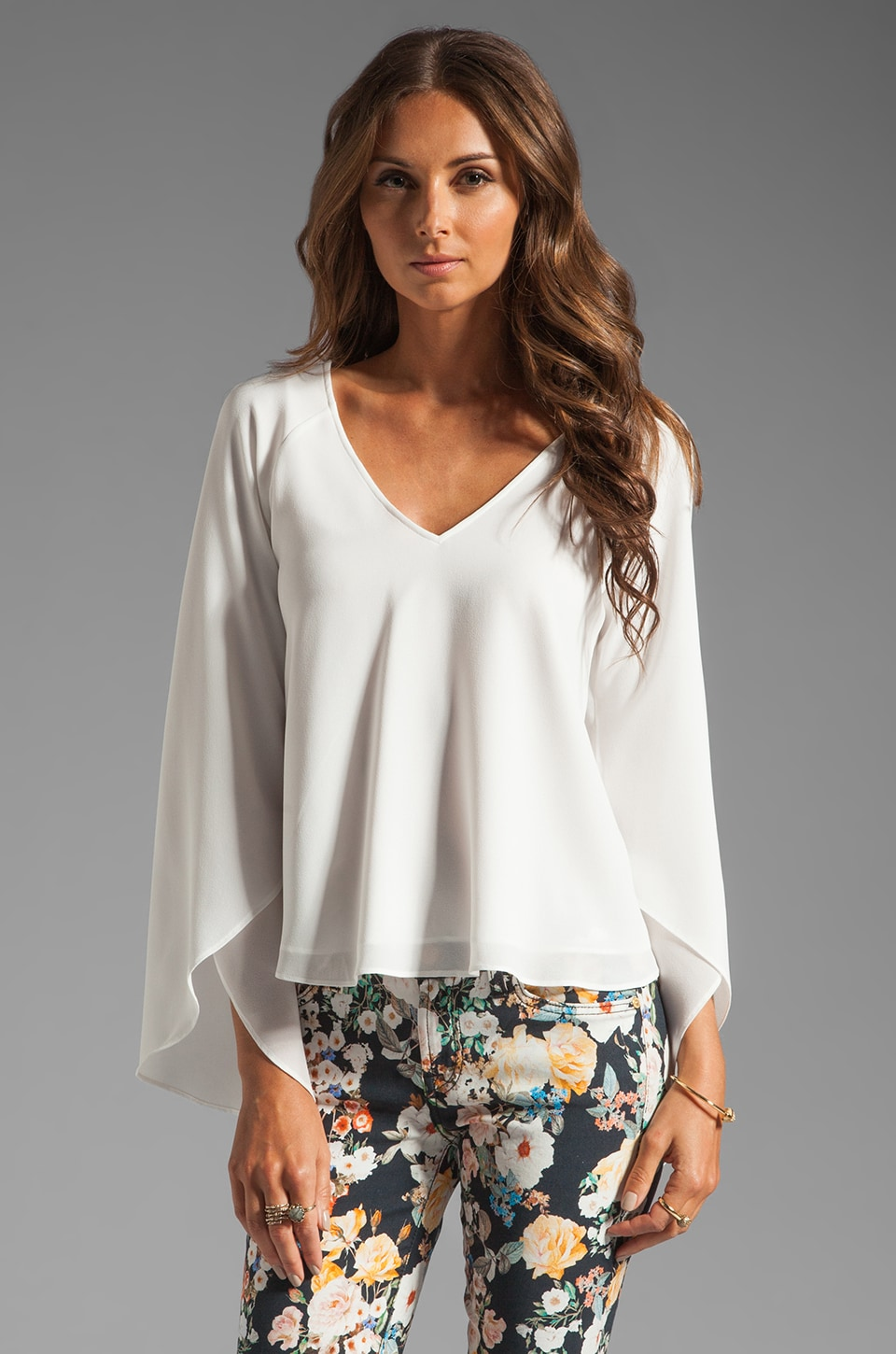 Dolce Vita Nalani Top in White