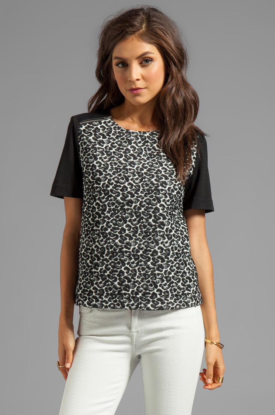 Dolce Vita Cynthia Top in Leopard