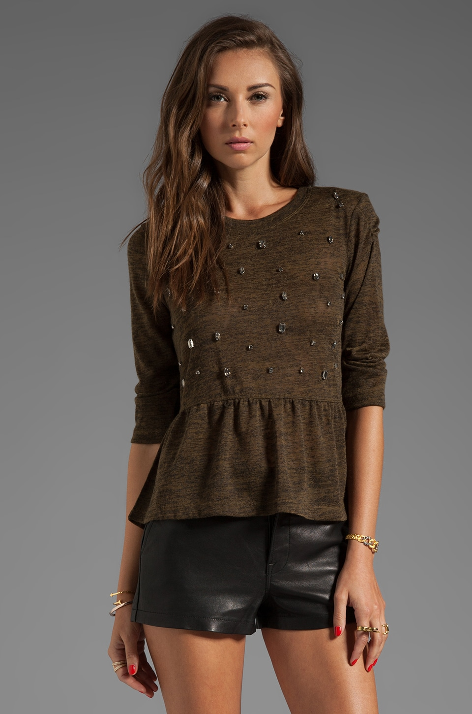 Dolce Vita Yucca Top in Army Green