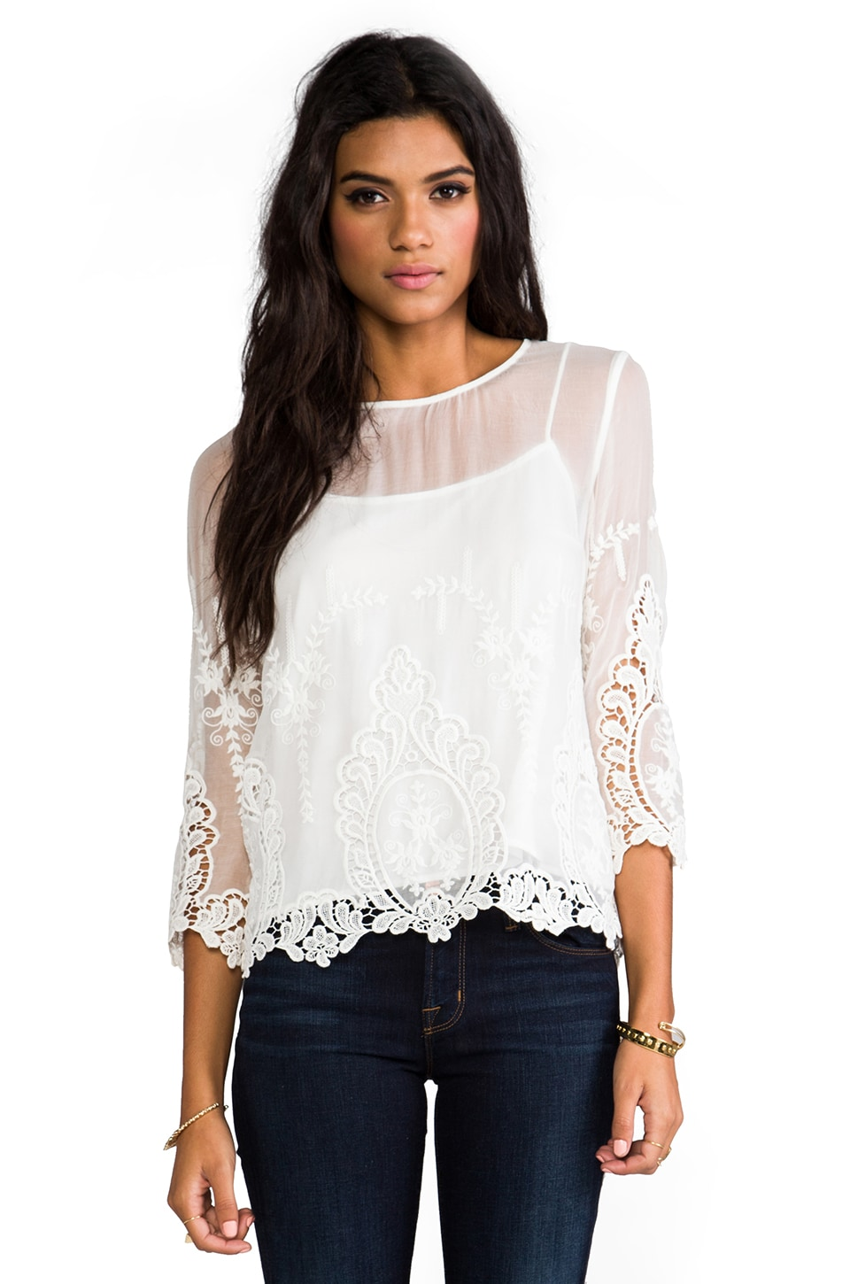 Dolce Vita Deidra Top in White