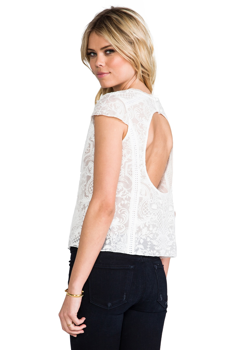 Dolce Vita Titan Top in White