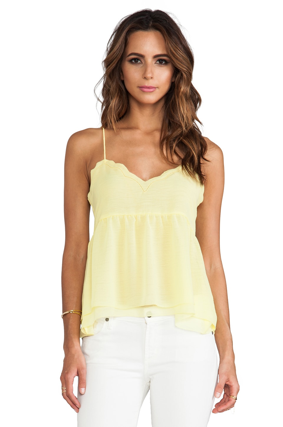 Dolce Vita Damaris Tank in Yellow