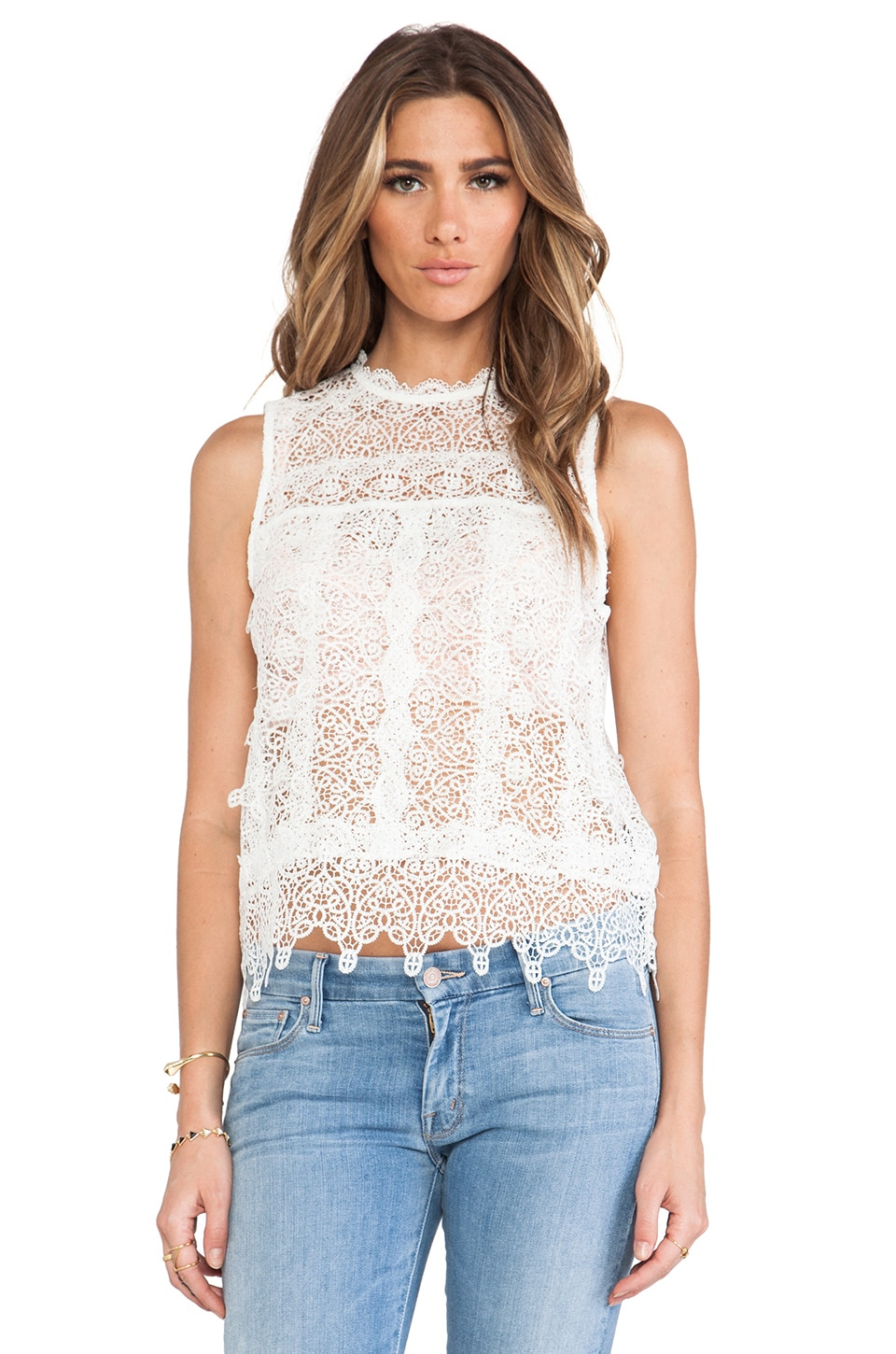 Dolce Vita Hagia Top in White