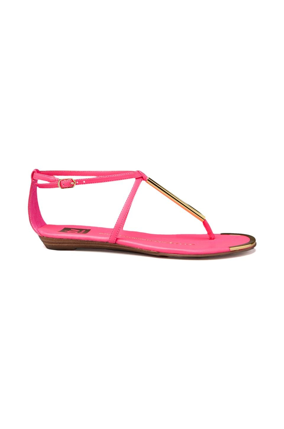 Dolce Vita Archer Sandal in Hot Pink