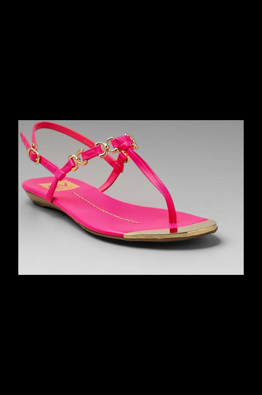 Dolce Vita Alta Sandal in Neon Pink