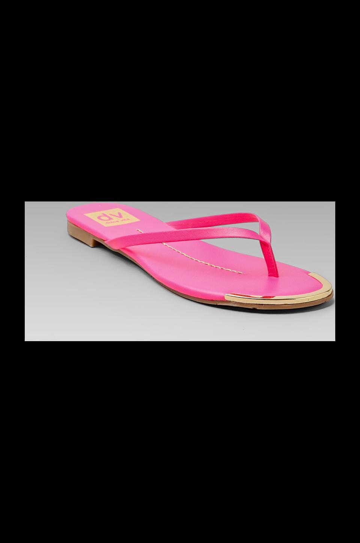 Dolce Vita Dania Sandal in Neon Pink
