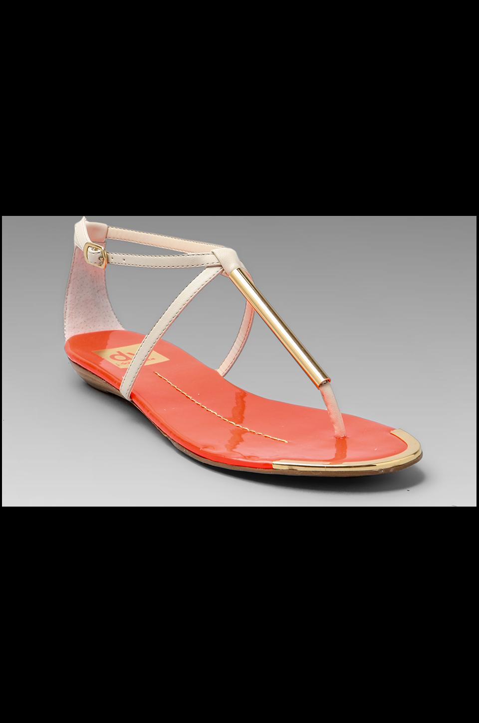 Dolce Vita Archer Sandal in Bone/Orange