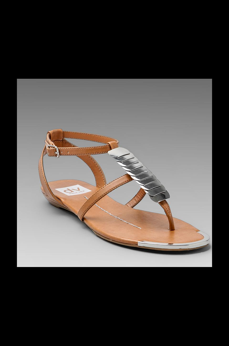 Dolce Vita Apex Sandal in Light Cognac