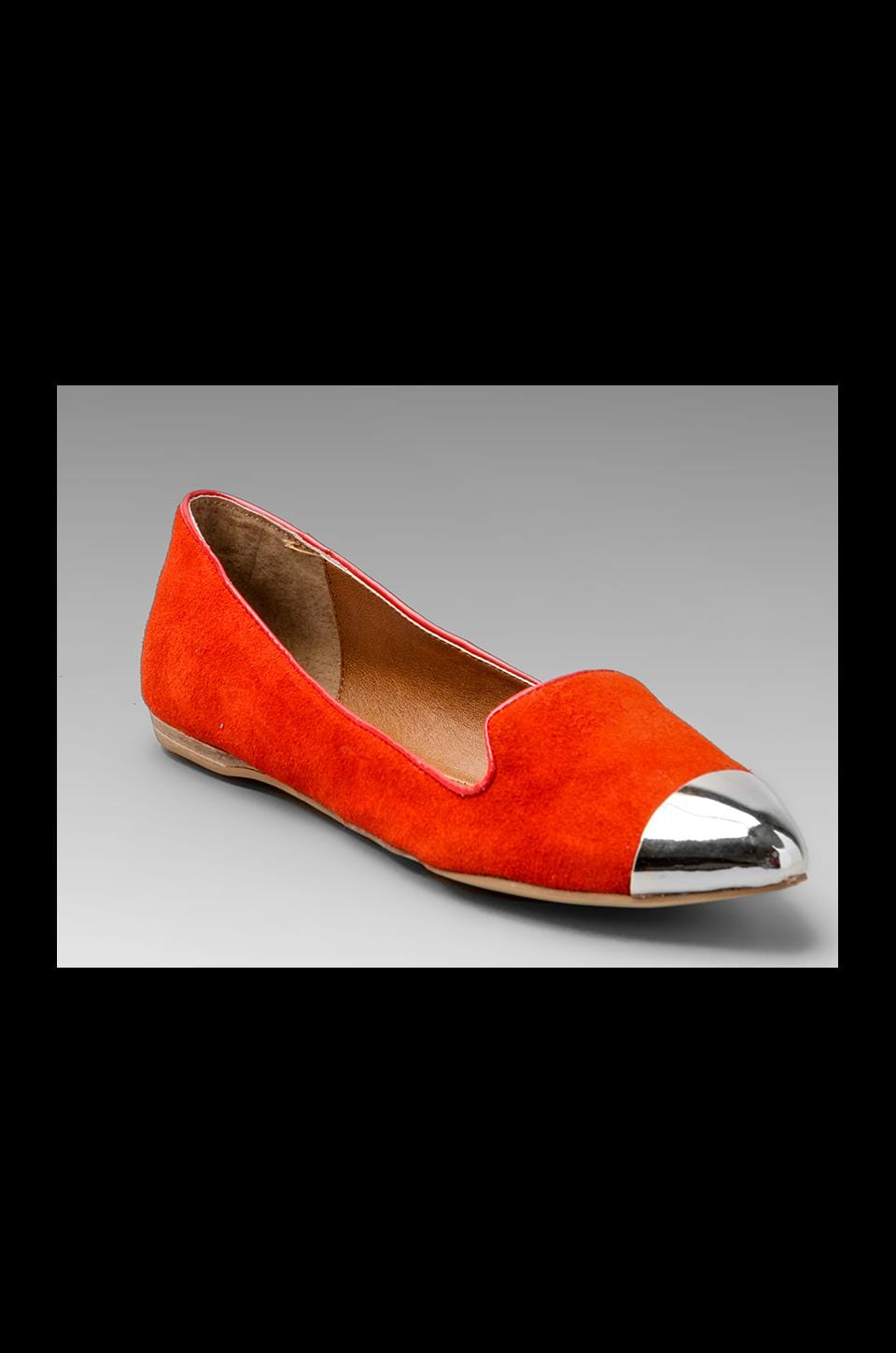 Dolce Vita Lunna Flat in Red