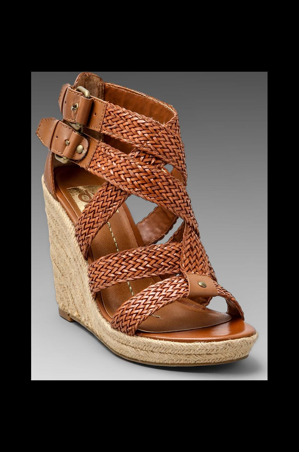 Dolce Vita Taylor Wedge in Cognac
