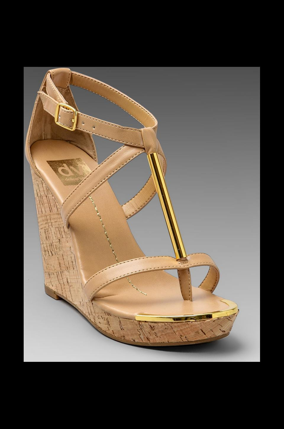Dolce Vita Tremor Wedge in Nude