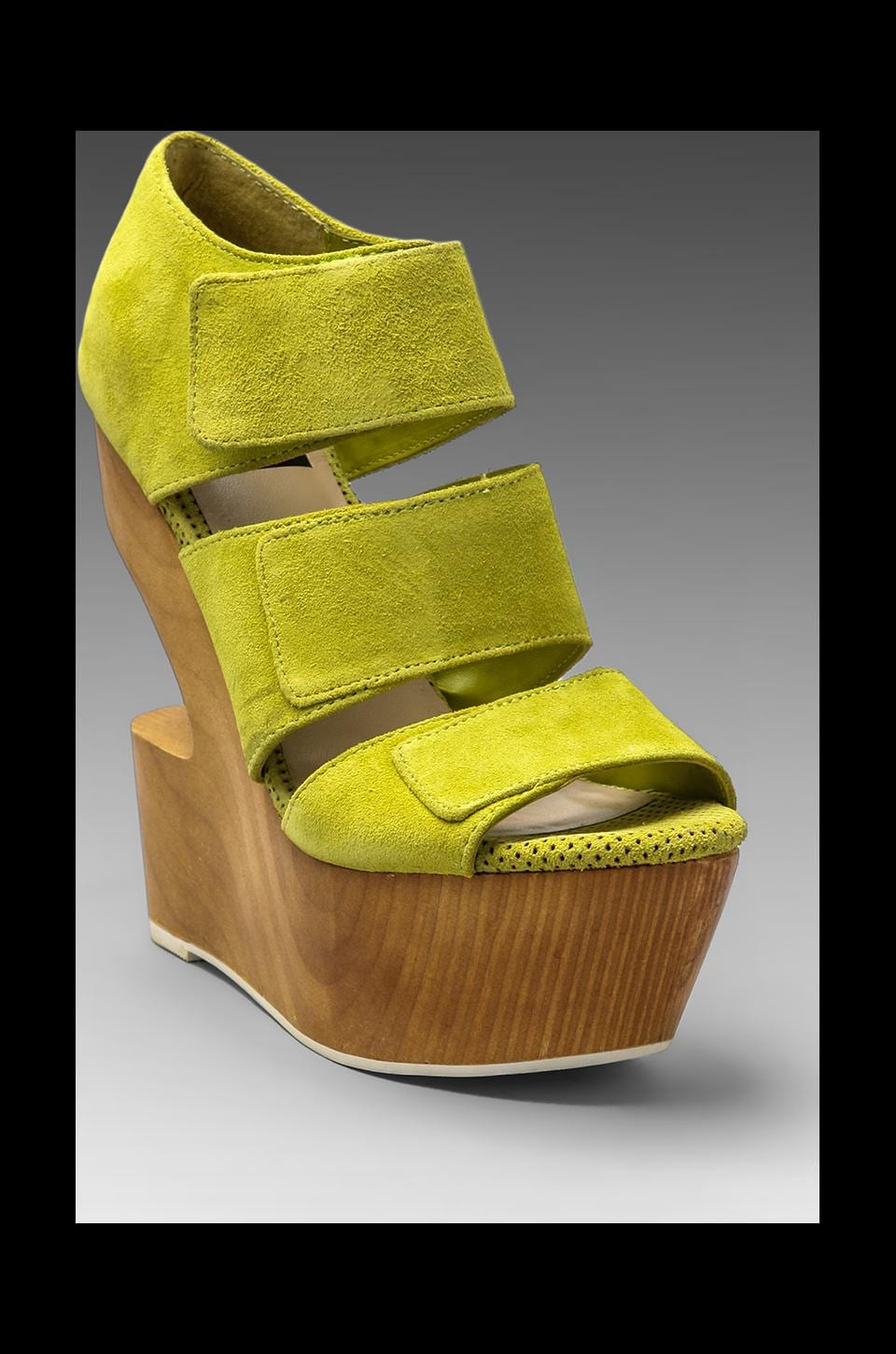 Dolce Vita Javelin Wedge in Acid Yellow