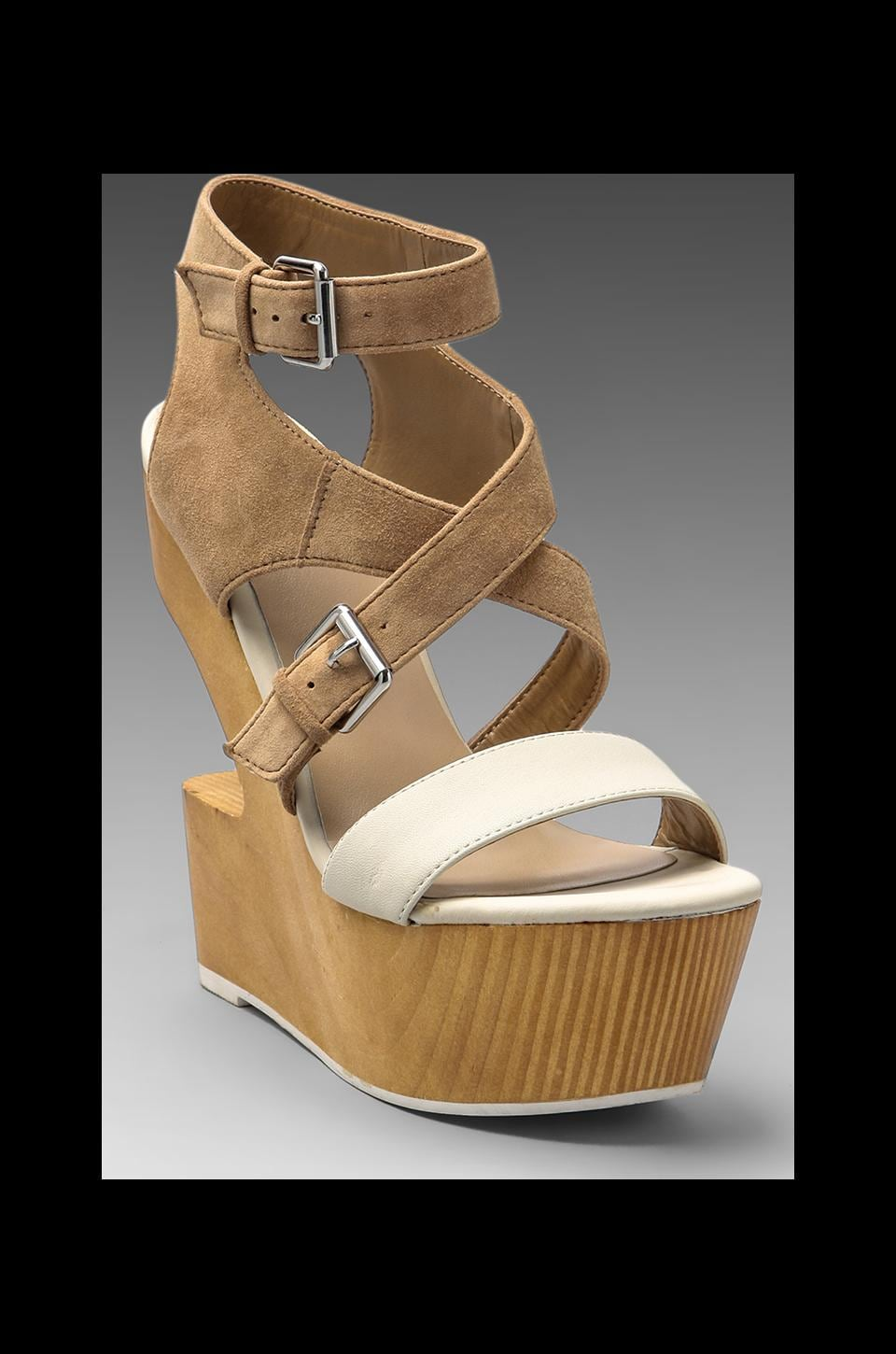 Dolce Vita Jester Wedge in Nude