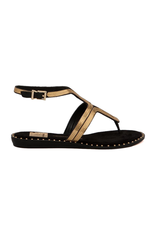 Dolce Vita Delmy Sandal in Black