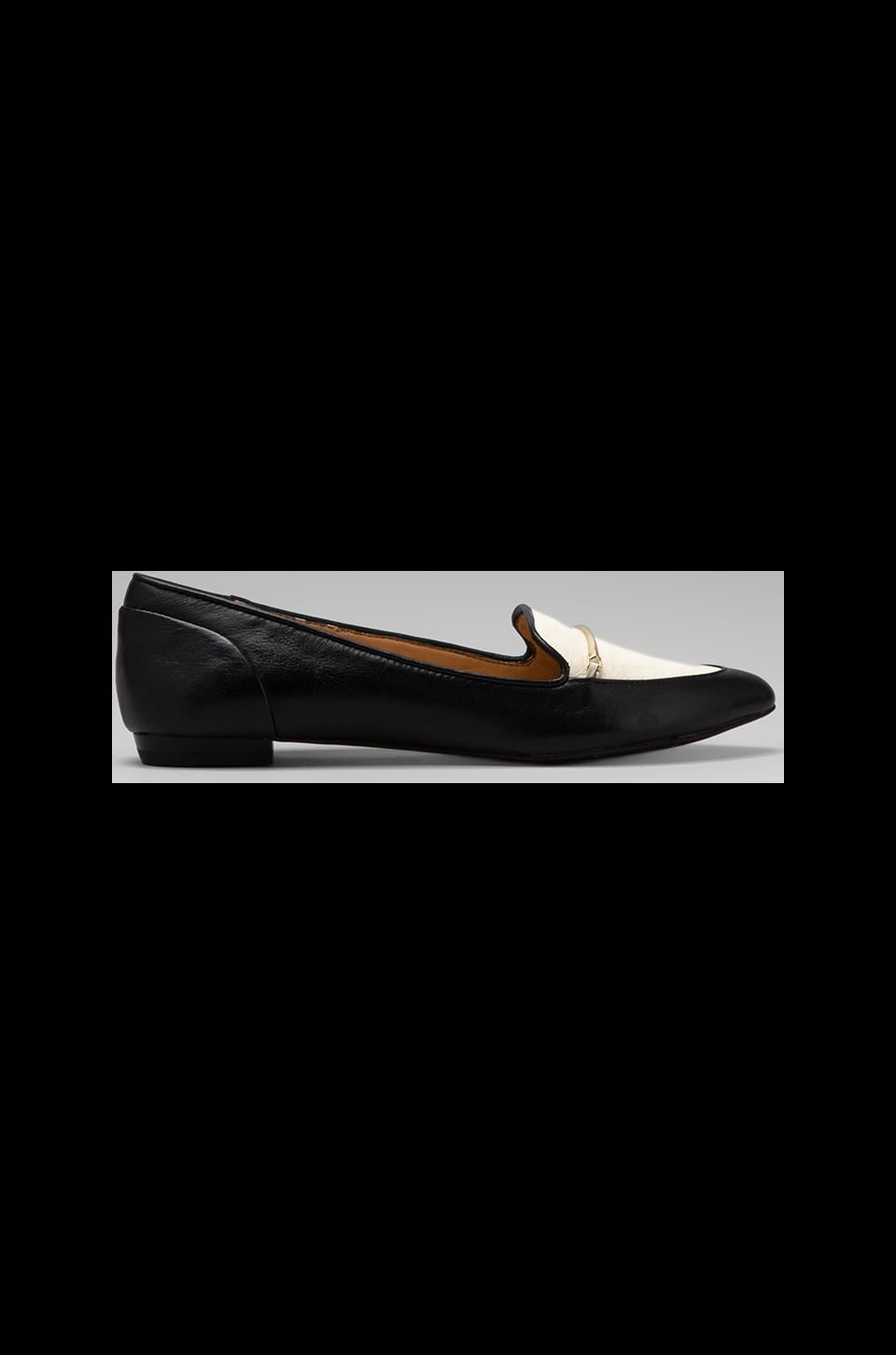 Dolce Vita Giya Loafer in Black/White