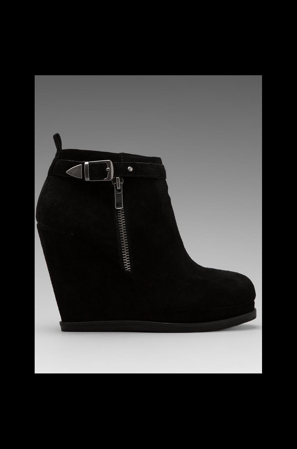 Dolce Vita Peri Wedge Bootie in Black