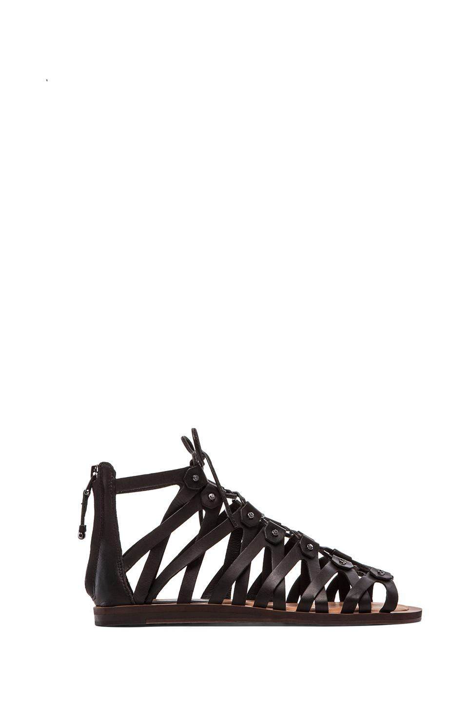 Dolce Vita Fray Gladiator in Black