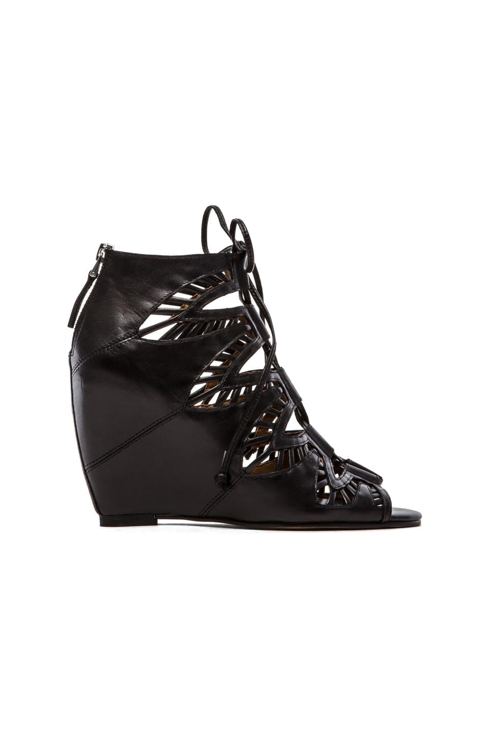 Dolce Vita Shandy Wedge in Black