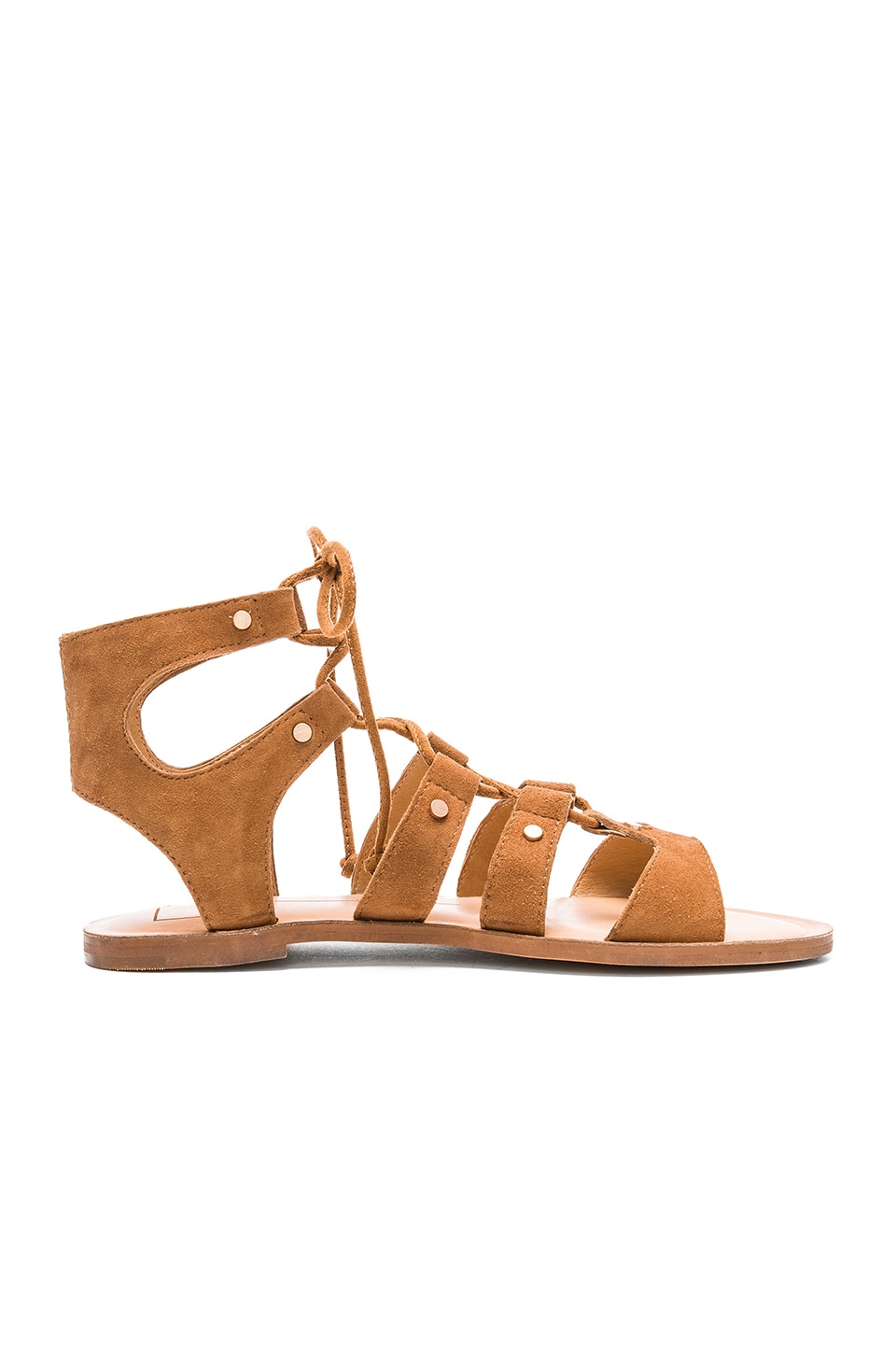 Dolce Vita Jasmyn Sandal in Dark Saddle