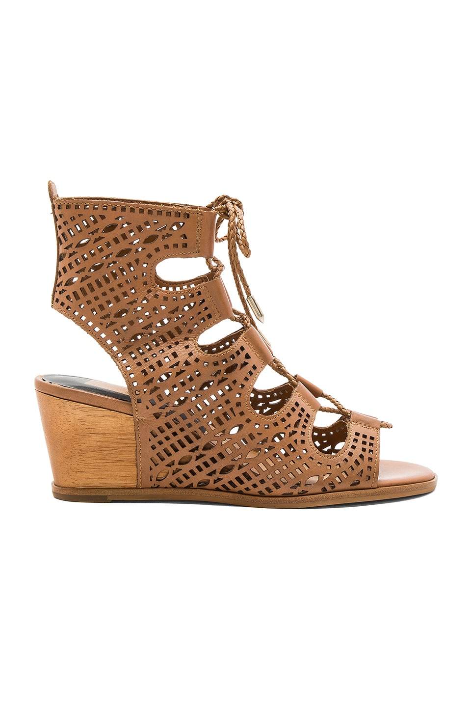 Dolce Vita Lamont Wedge in Caramel
