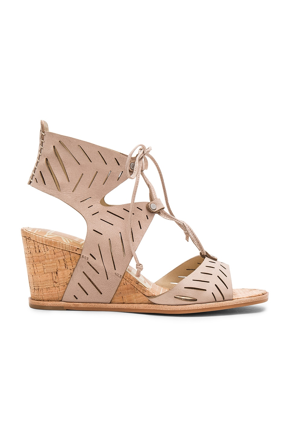 Dolce Vita Langly Wedge in Taupe