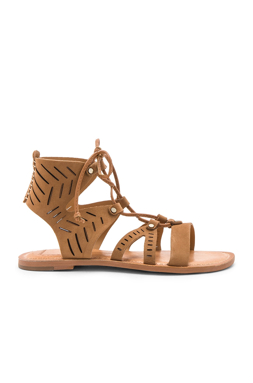 Dolce Vita Juno Sandal in Saddle