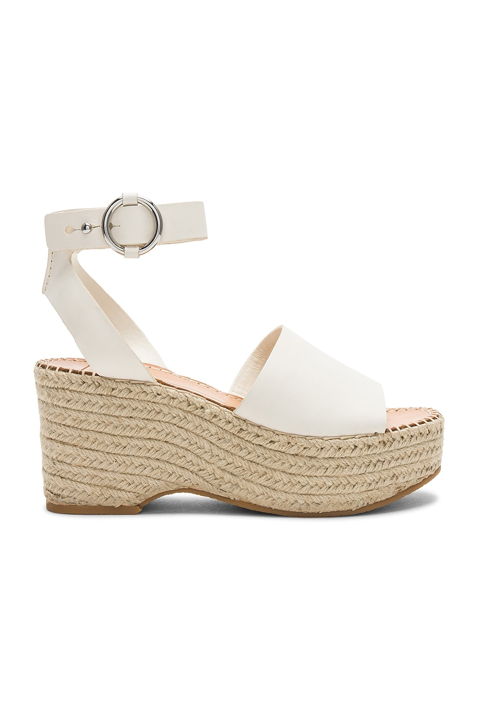 Dolce Vita Lesly Wedge in Off White