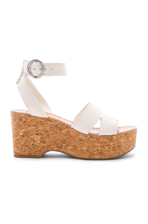 Dolce Vita Linda Platform Sandal in Ivory