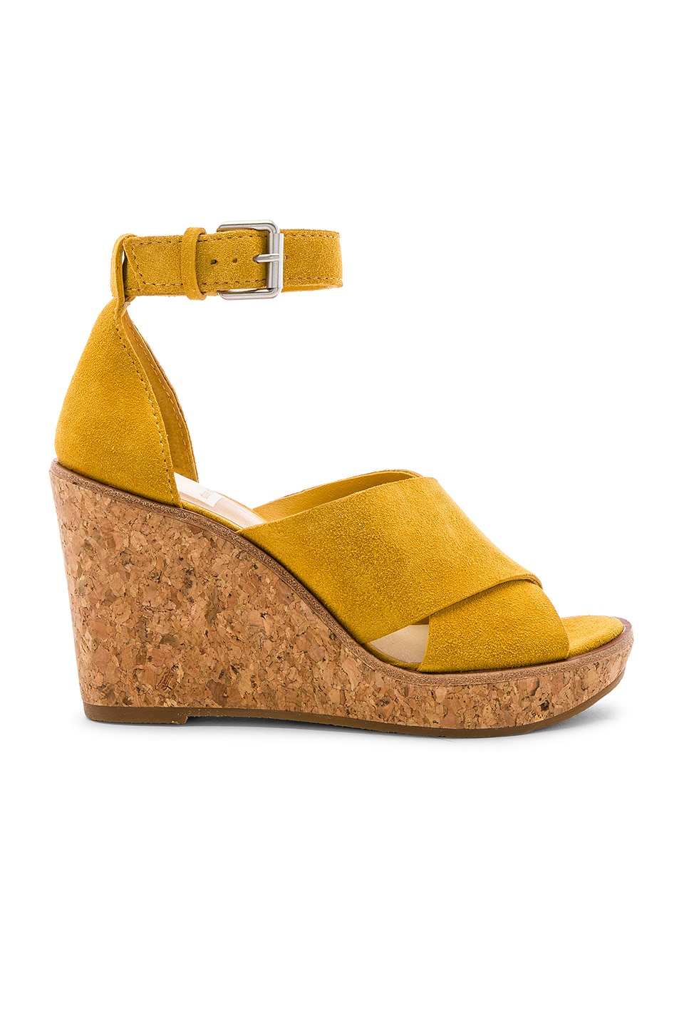 Dolce Vita Urbane Wedge in Honey