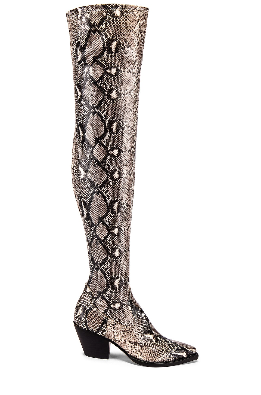 Dolce Vita Suri Boot in Black & White