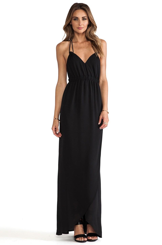 Donna Mizani Tulip Gown in Caviar | REVOLVE