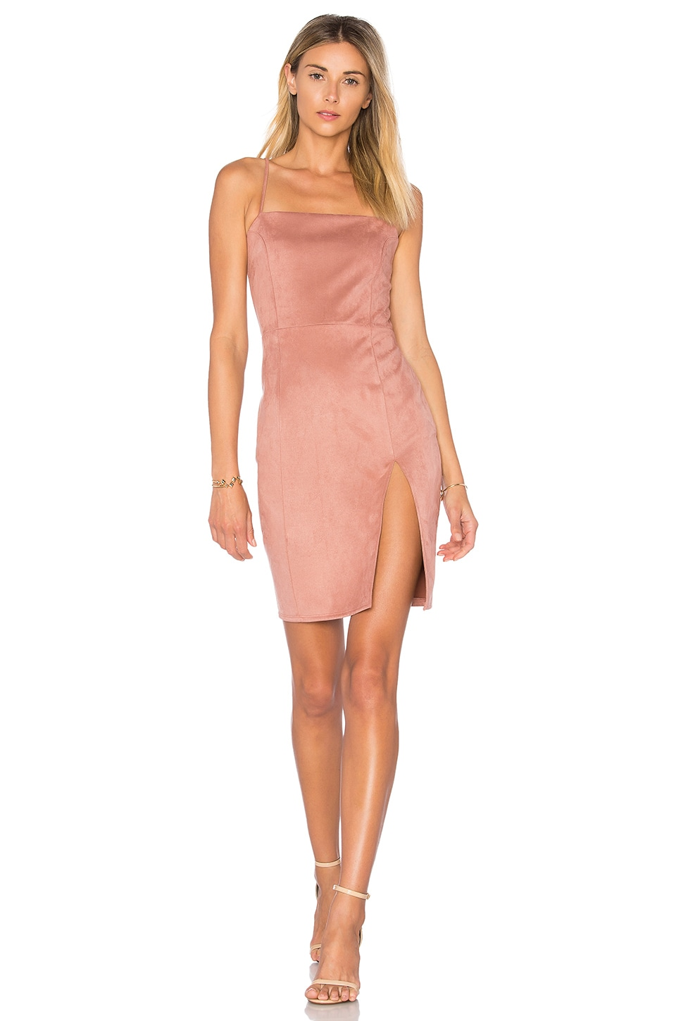 Donna Mizani Willa Dress in Cameo Pink