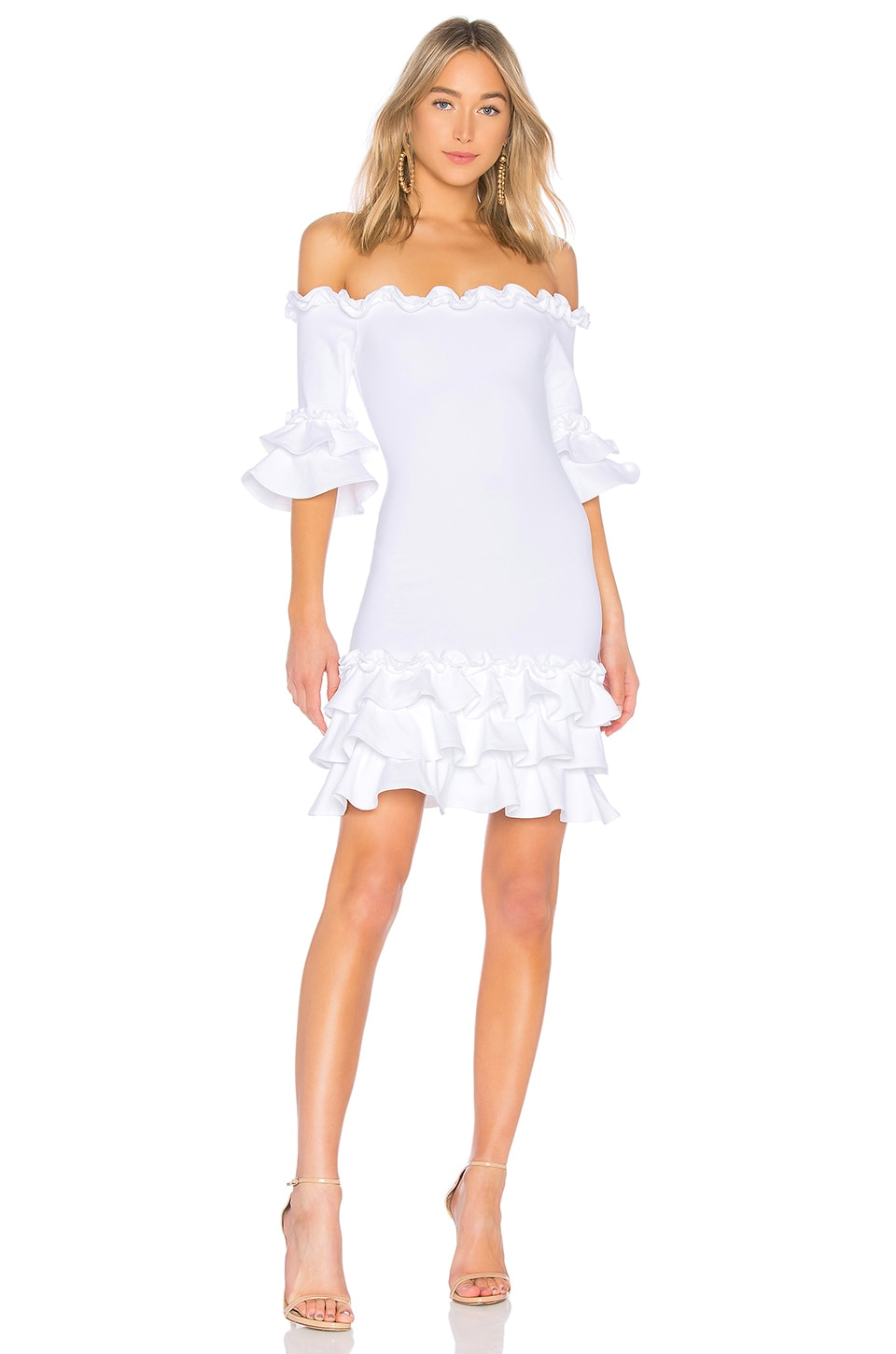 DONNA MIZANI PISHI MINI DRESS