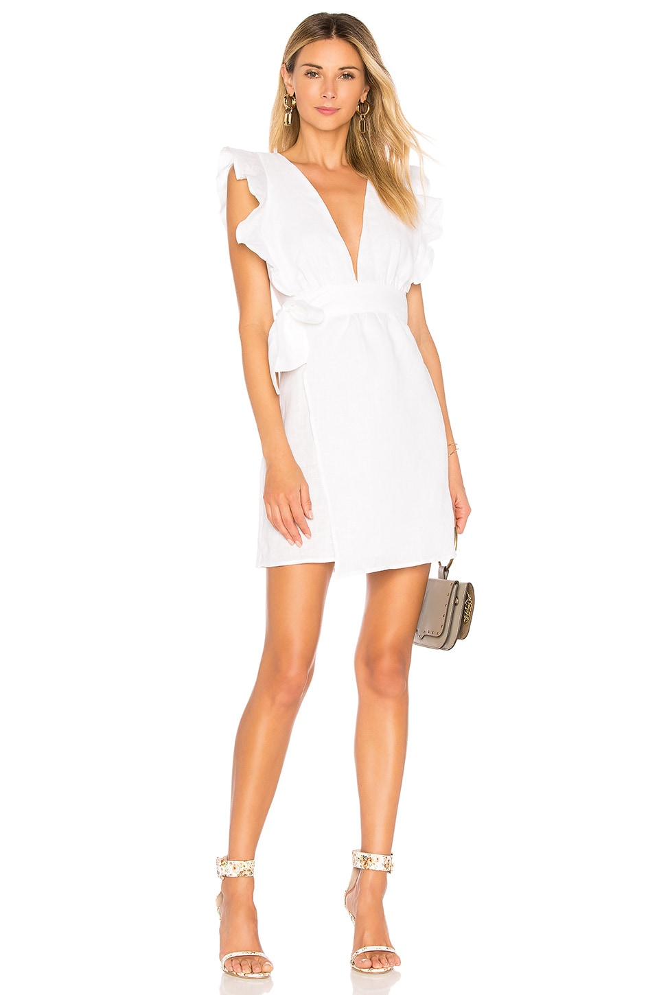 DONNA MIZANI MAYA MINI DRESS