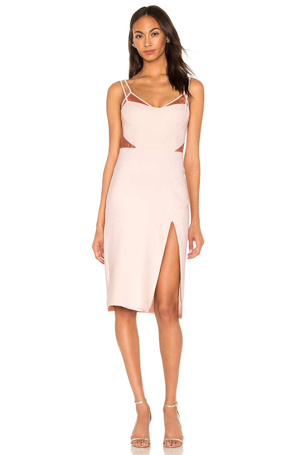 Donna Mizani  ALINA MIDI DRESS