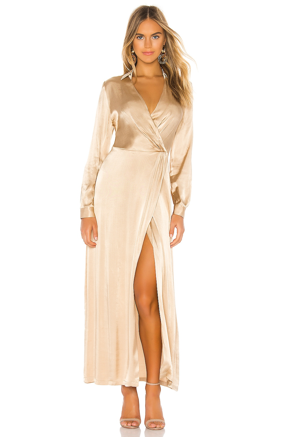 Donna Mizani Jacks Gown in Champagne